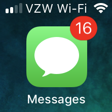 Spurious iMessage Notifications